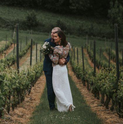 Huwelijk Edith & Mattie